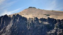 Llao Rock (Crater Lake Caldera, Oregon, USA) 24 (James St. John) Tags: llao rock lava volcanic ash pumice crater lake caldera national park oregon holocene volcano volcanoes eruption eruptions rhyodacite rhyodacitic