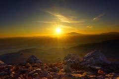 Sunset on Rhodos (bastian90) Tags: hdr holiday travel berge mountains landschaft landscape mittelmeer rhodos sunset sonnenuntergang