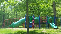 New Playground Equipment at Bennett Spring State Park (Adventurer Dustin Holmes) Tags: 2018 bennettspringstatepark park playgroundequipment playground slide slides swings