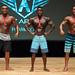 Men's Physique A - 2nd Akili McCatty 1st Naudeen Stewart 3rd Rowan Stenson