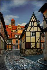 Quedlinburg (angelofruhr) Tags: quedlinburg sachsenanhalt germany deutschland altstadt altstadtgassen fachwerkhäuser