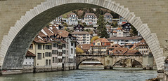 Bern-Schweiz / Berne-Suisse / Berna-Svizzera (J.A.S.S.) Tags: bern berna berne suisse suiza suiça suizo switzerland swiss schweiz canton aar aare svizzera rio riviere river puente pont bridge nikon nikond750 750 tamron tamron2470 2470