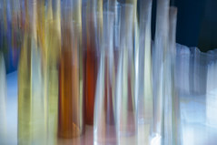 translucens (tseehaus) Tags: bottles water colors light transparency blur icm intentionalcameramovement