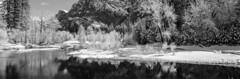 Half Dome and Merced River. Yosemite (Vasily Spirin) Tags: yosemite winter snow film fujifilm linhof lanscape