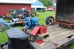 Newfane 066 (18) (swi66) Tags: dunkirk hit miss motors diesel cannons farm tractor john deere antique historical