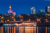 Warsaw, view from Wybrzeże Helskie (lukasz.soszynski) Tags: 2018 multi colored old town river shore color reflection city ship long exposure warsaw blue hour architecture palace culture science vistula night photography houses landscape multicolor outdoor sky pałac kultury nauki buildings cityscape canon 600d lens dusk bluesky longexposure colorful polska bluehour building warszawa light lantern illumination wybrzeże helskie poland