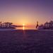 Konstanz Hafen am Morgen