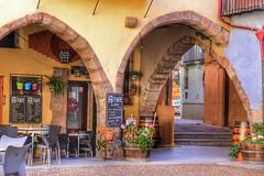 Onda's main Plaza. Onda, Castellon, Spain (mtm2935) Tags: arcos arches buildings mainplaza ceramictown smalltown spain castellón ancient medieval plaza historic onda