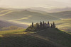 A Postcard from Tuscany (Andrew G Robertson) Tags: tuscany toscana san quirico dorcia val orcia podere belvedere sunrise mist fog italy