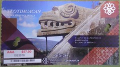 Ticket to Teotihuacan (Sasha India) Tags: teotihuacan mexico 테오티우아칸 テオティワカン 特奥蒂瓦坎 мексика латинскаяамерика теотиуакан путешествия путешествие подорожі подорож мандри travel viajar voyage viaje