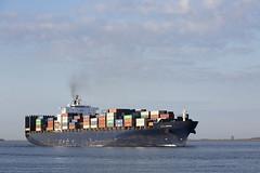 ER LONDON (angelo vlassenrood) Tags: ship vessel nederland netherlands photo shoot shot photoshot picture westerschelde boot schip canon angelo walsoorden cargo container erlondon