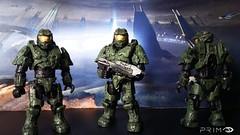 Mega Construx Halo: Master Chief (Halo 3) (I P R I M E I) Tags: megaconstrux megabloks halo halo3 masterchief finishthefight spartan unsc custom moc