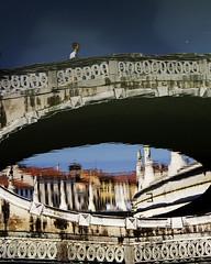 Prato della Valle (nicolamarongiu) Tags: riflesso reflections riflessi colori dipinto pittura padova pratodellavalle italy italia streetphotography street city piazza