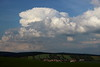 Cumulonimbus capillatus & low level clouds above Ždánice observatory (Petr Hykš) Tags: strong updraft cumulonimbus capillatus incus weather meteorology cloud storm thunder troposphere