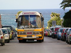 Towards the end of the good times (Renown) Tags: bus coach singledeck bedford ylq duple dominantii dominantiiexpress fby670 malta maltese buses bugibba