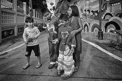Thailand street kids (FimRay) Tags: blackandwhite bw monotone monochrome street streetphotography traditionalstreet thailand child children kids funny people