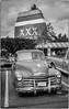 Chevy at the XXX (NoJuan) Tags: chevrolet chevytruck chevy 35mmfilm blackwhite bw blackandwhite kodakbw400cnfilm canon canonsureshotwp1