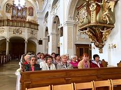 17 - BOLDOGASSZONY BAZILIKA - Zarándokok / BAZILIKA V FRAUENKIRCHEN - Pútnici / Fotó: Podobek Erzsébet