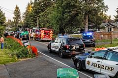 Snohomish County Sheriff's Office Vehicle Pursuit. 05/14/18 (andrewkim101) Tags: snohomish county sheriffs office lynnwood wa washington state ford chevrolet caprice tahoe ppv k9 unit police interceptor utility suv