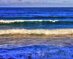 End of autumn big waves I (elphweb) Tags: hdr highdynamicrange nsw australia sea ocean water seaside waves surf