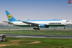 UK67001 Uzbekistan Airways Boeing 767-33P. (Samee55) Tags: bangladesh dhaka dac vghs planespotting avgeek aviationphotography aviationimages aviationinbangladesh psbd boeing 2018 aircraftphotos cargoaircraft b767 canon kiss x8i