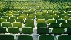 Olympiastadion. (Dominik Morbitzer) Tags: sony sonya7 a7 alpha7 ilce7 leica leicasummicron35mmf20i summicron 35 35mm 2035 münchen munich muenchen germany deutschland architecture architektur olympiapark olympiastadion olympic stadion green