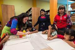 """Cierre del Taller: La expresión de la diferencia """"El color de piel"""" (muniarica) Tags: arica chile muniarica biblioteca taller expresión color piel niños estudiantes pintura diferencia arte"""