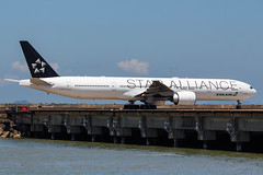 EVA AIR B777-300ER B-16715 STAR ALLIANCE 002 (A.S. Kevin N.V.M.M. Chung) Tags: aviation aircraft aeroplane airport macauinternationalairport mfm plane spotting transport taxiway boeing evaair staralliance b777300er