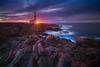 Favaritx (albert dros) Tags: favaritx menorca spain travel sunset sunrise rocks sea seascapes albertdros sun sunstar textures