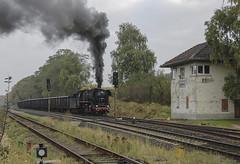 DR 44.1486 Markshul 13/10/2007 (stefano.trionfini) Tags: train treni bahn zug steam dr br44 werra thüringen germania deutschland dampf