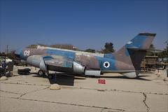Sud Aviation S.O.4050 Vautour IIA - 3 (NickJ 1972) Tags: israel israeli air force museum hatzerim iaf idf iasf 2018 aviation sud so4050 vautour ii 09 15