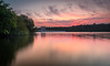 Val De La Mare - 23rd May 2018 (Tim_Horsfall) Tags: blue landscape reservoir water sunset colours clouds forest woods countryside jersey island fujifilm xt2 lake