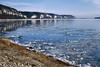 Mississippi River In Winter (Modkuse) Tags: mississippiriver river ice bluffs riverbluffs nikonn90s nikon nikonslr tokinaaf2870mmf2628 tokina kodak ektachrome kodakektachrome highspeedektachrome