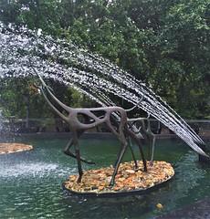 Impala Fountain (ArtFan70) Tags: impalafountain morrisfountain henrymitchell mitchell philadelphiazoo zoo centennial philadelphia philly pennsylvania pa unitedstates usa america art fountain sculpture impala animal antelope animals statue statues