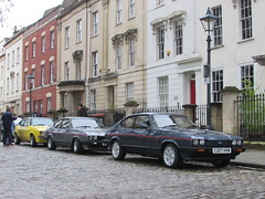 Three of a Kind. (Andrew 2.8i) Tags: queen queens square bristol breakfast club show meet car cars classic capri ford sports sportscar