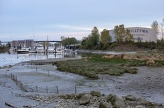 Milltown (Clayton Perry Photoworks) Tags: vancouver bc canada spring explorebc explorecanada skyline boats milltownmarina richmondisland