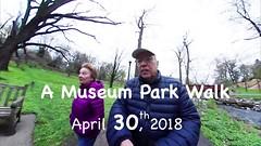 Museum Park Spring Walk - April 2018 (KathyCat102) Tags: samsung gear360 2017edition 360photography museumpark readingpa wyomissing