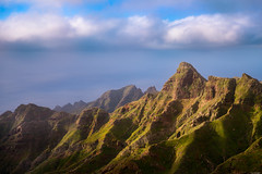 Peaks in light (Rico the noob) Tags: 2018 rock d850 landscape nature water mountains outdoor 2470mmf28 clouds ocean published dof tenerife sky 2470mm teneriffa rocks sea mountain