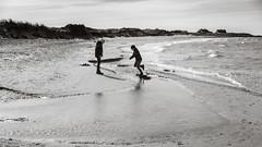 Jump! (Poul_Werner) Tags: danmark denmark nordstrand skagen 53mm beach easter hav ocean påske sea strand northdenmarkregion dk