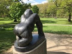 Guy the Gorilla (Matt From London) Tags: crystalpalacepark london guythegorilla sculpture davidwynne