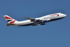 'BA173A' (BA0173) LHR-JFK (A380spotter) Tags: takeoff departure climb climbout boeing 747 400 gcivs toflytoserve emblem achievement crest coatofarms internationalconsolidatedairlinesgroupsa iag britishairways baw ba ba173a ba0173 lhrjfk runway09r 09r london heathrow egll lhr