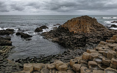 A tribute to you, Giants of the past (sagesolar) Tags: giantscauseway northernireland irishcoast ireland coast nature geology overcast cloudy bushmills naturephotography oceanside causewaycoastalroute coastalviews seascape countyantrim rocks moody coastalscene naturaltrust