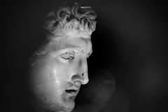 Portrait Study (Phancurio) Tags: portrait holetechnology hermes antiquity olympia greece sculpture photography