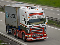 Baca (PL) (Brayoo) Tags: scania container lkw camoin transport truck tir