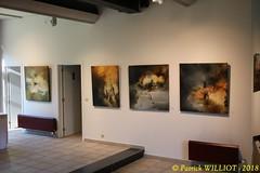 IMG_9401 (Patrick Williot) Tags: exposition vernissage ecuries sculpteur michal peintre genevieve nicolas