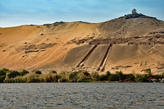 Pathway to the Tombs (clarktom845) Tags: egypt nile water river tomb nikon ngc