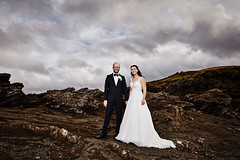 Rannveig & Konráð (LalliSig) Tags: wedding photographer iceland people portrait portraiture lava field cliffs