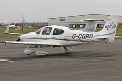 G-CGRD Cirrus SR22 CVT1 (cvtperson) Tags: gcgrd cirrus sr22 coventry cvt egbe