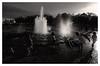 Backlight Fountain (jmvanelk) Tags: berlin germany blackwhite analog filmisnotdead expiredfilm fujineopan1600 nikonf100 water backlight fountain children