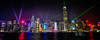 Panorama view of Hong Kong Island Skyline at Night during Symphony of Lights show with Victoria Harbour - Hong Kong (mbell1975) Tags: hongkong kowloon hk hong kong island skyline night during symphony lights show with victoria harbour china sar evening dark skyscraper skyscrapers city office buildings tower towers sol symphonyoflights harbor sea water ocean pacific pano panorama panoramic wide view 香港